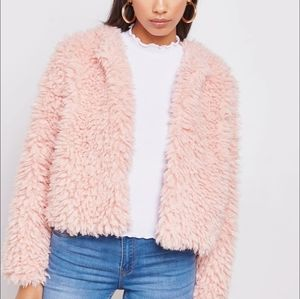 🆕️ FOREVER 21 Faux Fur Textured Teddy Jacket!